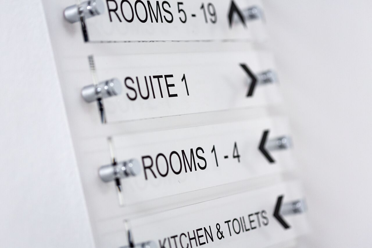 Up to 20 different suites offering a wide range of sizes to allow you to move around the building depending on how the needs of your business change