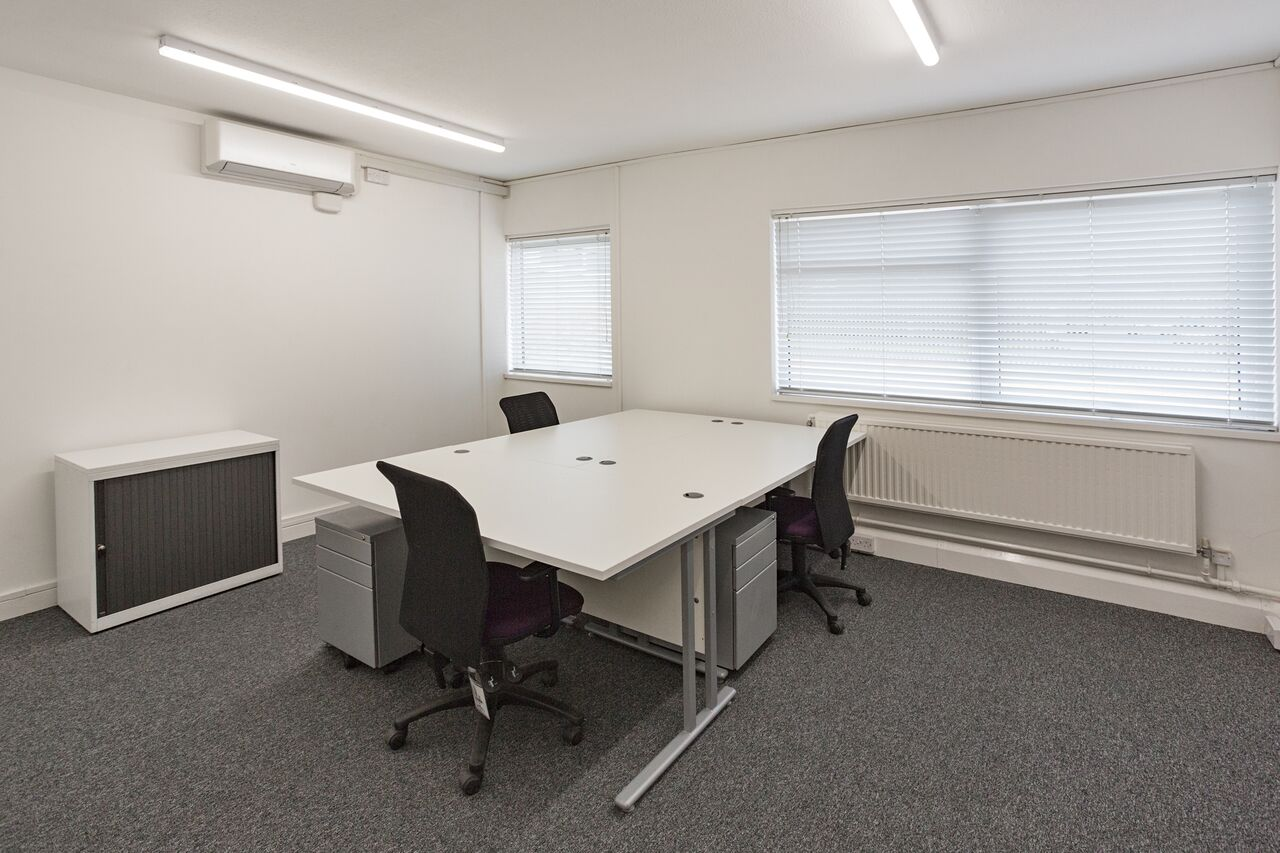 A typical 2 person air conditioned office